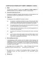 Constitution for Broughty Ferry Community Council